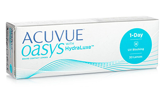 jnj acuvue oasys with hydraluxe